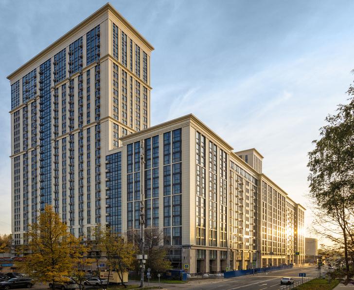 Фото №7 - Квартал апартаментов «Матч Поинт» как синоним «нового Кутузовского проспекта»