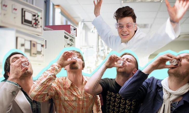 Фото №1 - Российские ученые изобрели беспохмельную водку