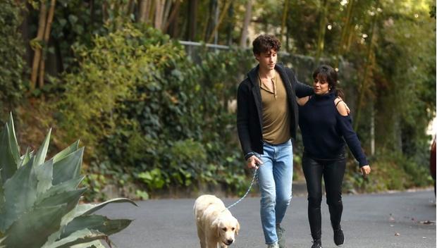 Фото №4 - Весна в городе: Камила Кабельо и Шон Мендес страстно целуются на прогулке