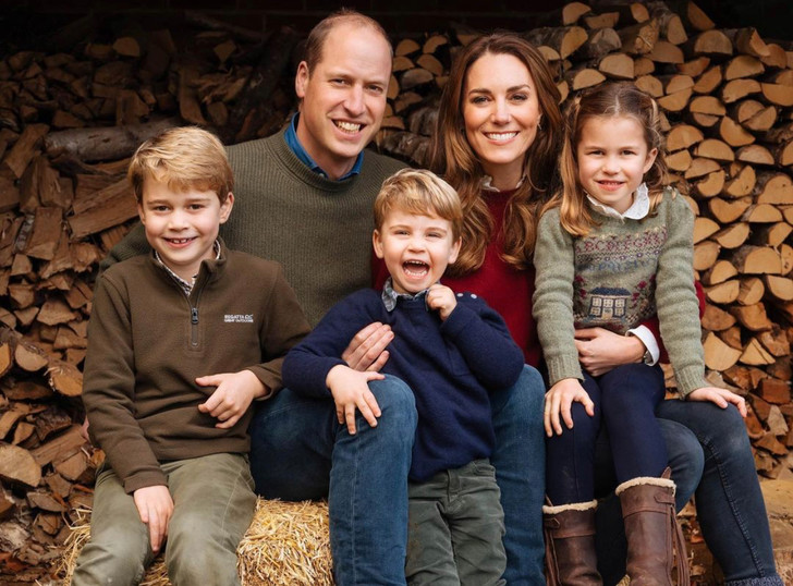 Фото №1 - Пронзительное и сердечное рождественское послание Кейт Миддлтон и принца Уильяма