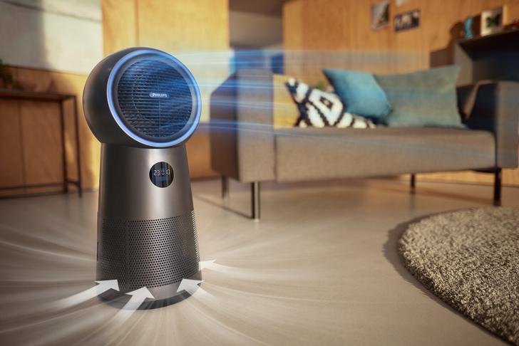 Фото №1 - Новый очиститель воздуха 3 в 1 от Philips: чистота воздуха на новом уровне, прохлада или тепло на ваш выбор