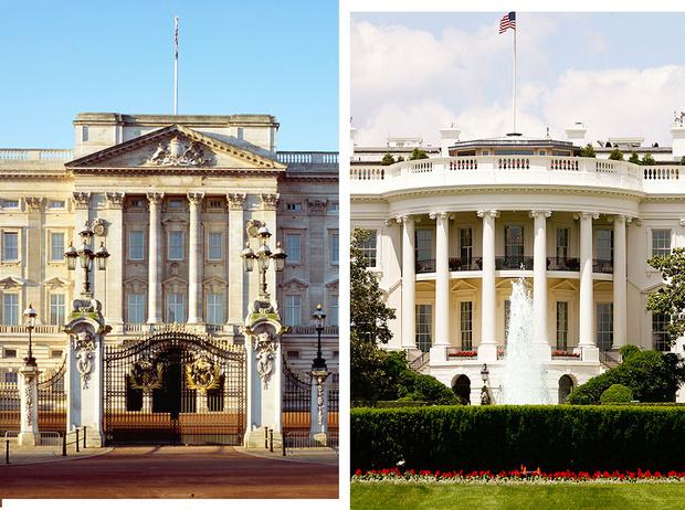 Фото №1 - Королевских размах: что больше— Букингемский дворец или Белый дом
