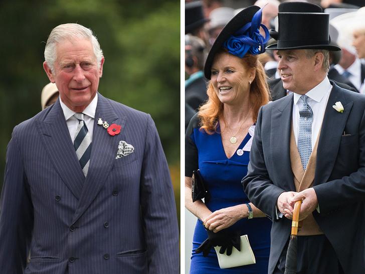 Фото №1 - Недопустимое поведение: поступок принца Эндрю и Сары Фергюсон, возмутивший принца Чарльза
