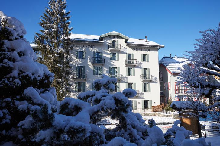Фото №2 - Отель Grand Hôtel du Soleil d'Or: жемчужина Межева