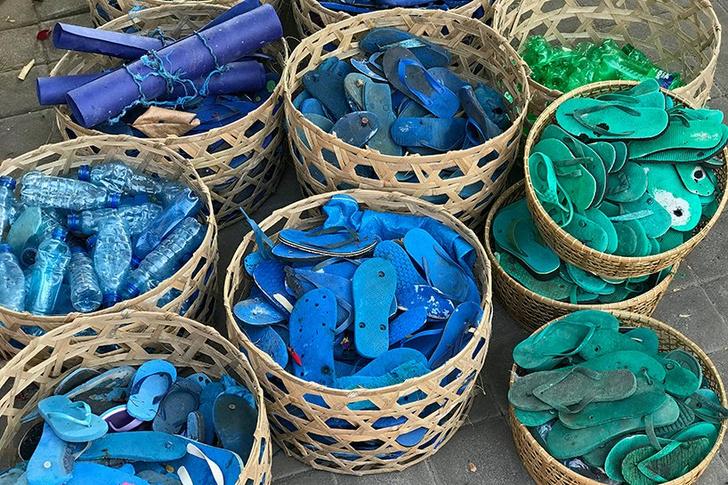 Фото №2 - Скульптура из пластика на Бали: что можно сделать из мусора