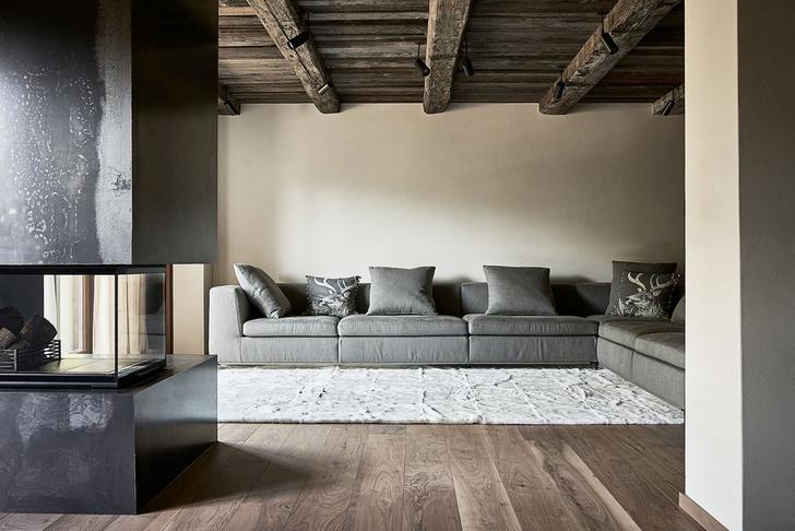 Фото №3 - Современное альпийское шале в оттенках серого