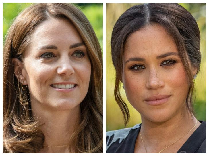 Фото №1 - Из-за чего на самом деле поругались Меган и Кейт (и о чем Сассекская умолчала в интервью)