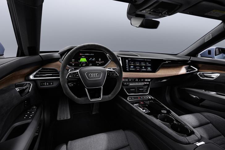 Фото №2 - Audi представила бешеный электрический седан на базе Porsche