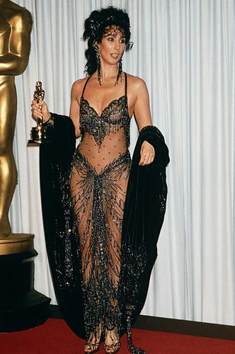 Голые звезды на Оскаре: фото
