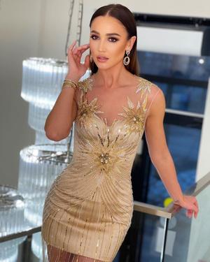 Фото №3 - Golden girl: выбираем золотое платье на выпускной как у Оли Бузовой