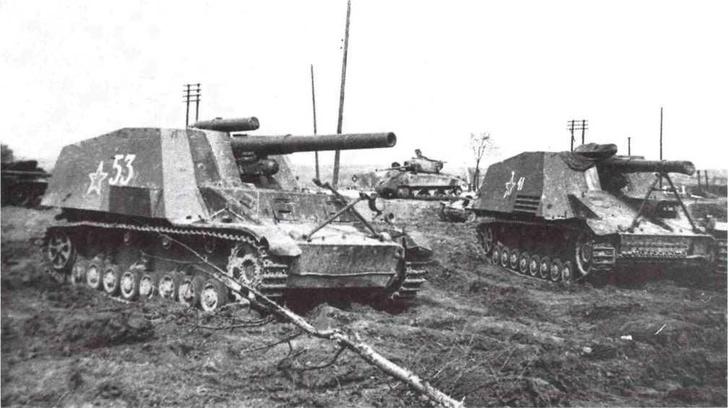 Фото №10 - Что немцу хорошо, то и Красной армии подойдет— танки вермахта с красными звездами