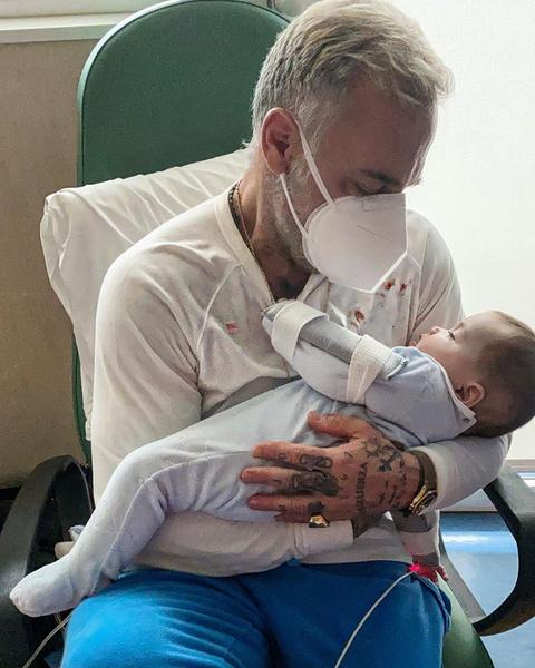 Фото №3 - 53-летний миллионер показал дочку после операции по исправлению «волчьей пасти»