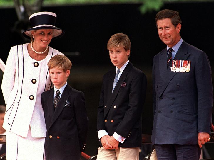 Фото №1 - Дети своих родителей: на кого больше похожи Уильям и Гарри— на Чарльза или Диану