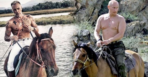 Фото №1 - Танцующий миллионер повторил образ Путина