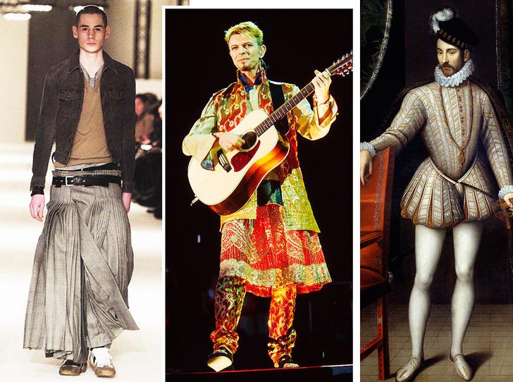Фото №1 - Мода без пола: почему мужчины в платьях— это нормально