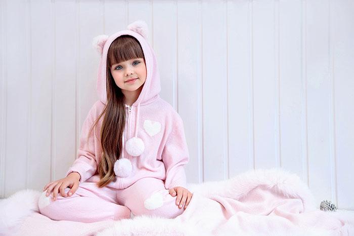 Фото №4 - Самая красивая девочка в мире живет в России!