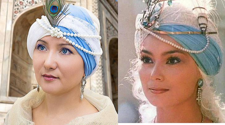 Эльвира Трясцина, Кадр из фильма «И еще одна ночь Шахерезады», фото
