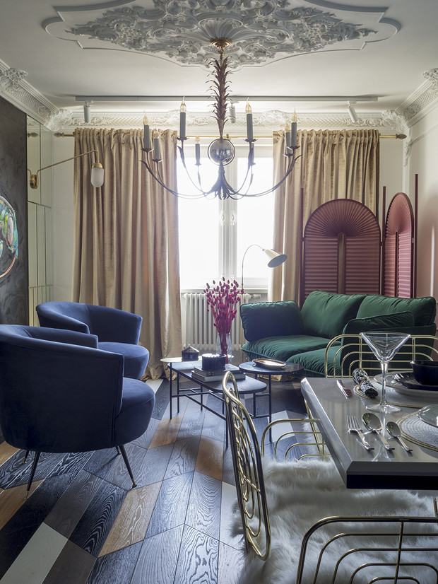 Фото №2 - Тренды 2021: диван + разноцветные кресла