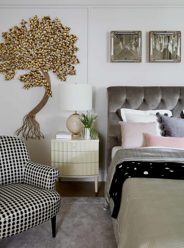 Фото №4 - Акцентная стена в спальне: 6 идей оформления