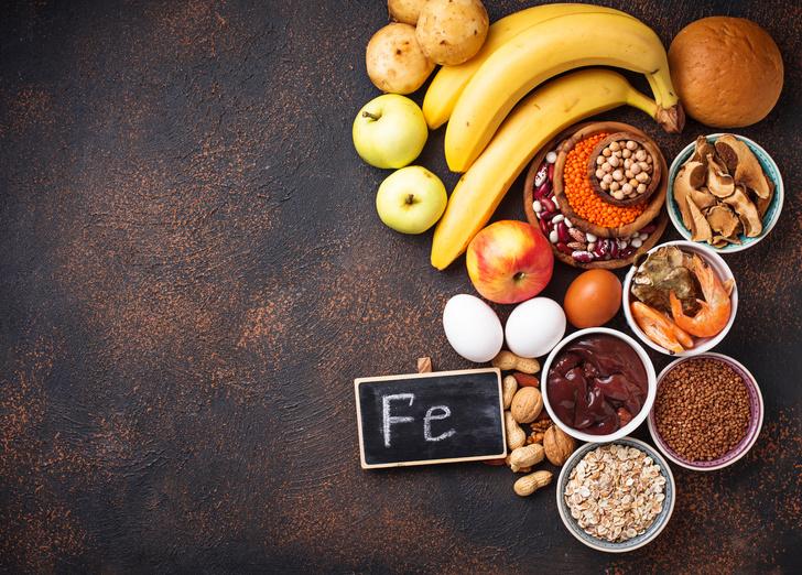 Фото №2 - Питание при анемии: главное блюдо – кислород!