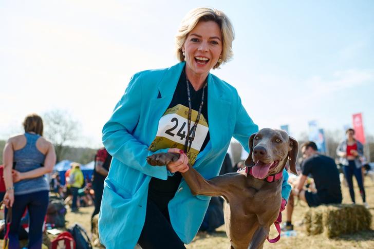 Фото №1 - Пушистый забег: собаки посоревнуются в скорости