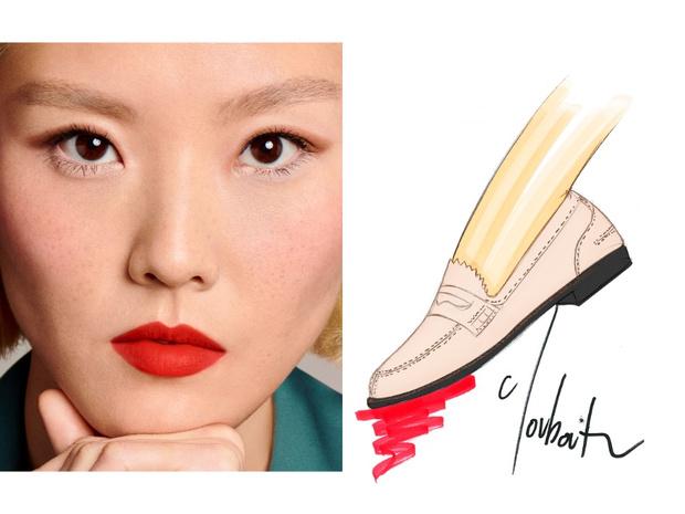 Фото №7 - Mix & match: 6 идей макияжа под 6 пар обуви