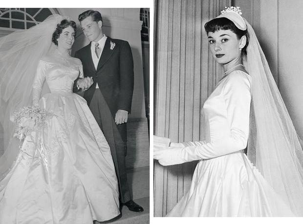 Фото №1 - По расчету: культовые свадебные платья звезд, выставленные на торги