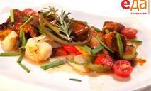 Рагу из говядины с овощами от телеканала «Еда»