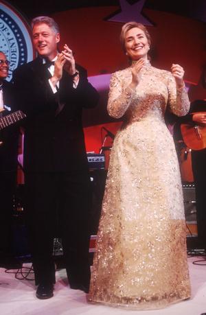 Фото №16 - Королевы Белого дома: самые роскошные инаугурационные платья Первых леди