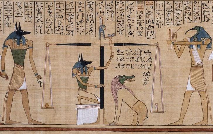 Фото №1 - Восстановлен ранее порванный свиток из египетской Книги мертвых