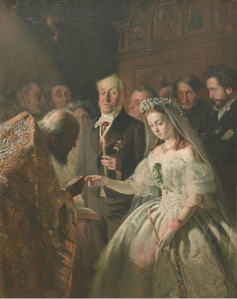 Василий Пукирев. Неравный брак