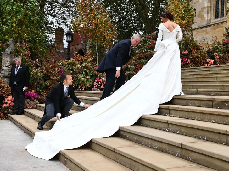 Фото №5 - Папины дочки: самые трогательные фото королевских невест с отцами