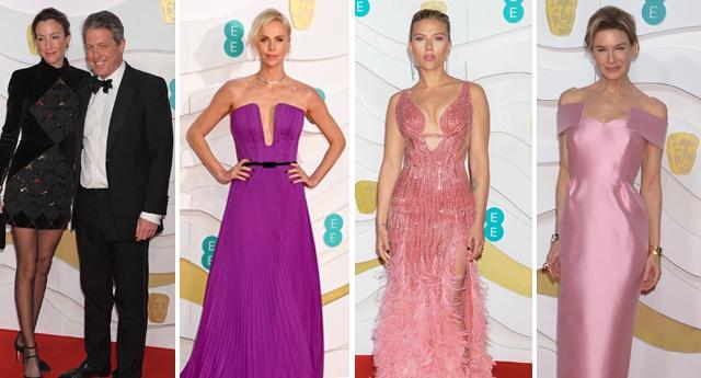 Шарлиз Терон, Рене Зеллвегер, Скарлетт Йоханссон и другие селебрити на самой звездной за всю историю церемонии BAFTA-2020