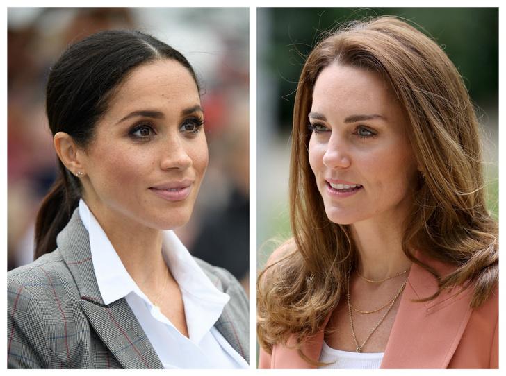 Фото №1 - Любопытная причина, почему Кейт неожиданно решила возобновить общение с Меган