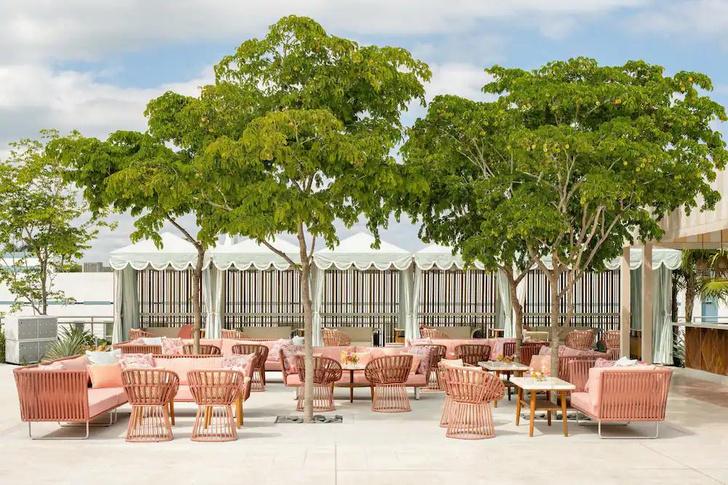 Фото №3 - The Goodtime Hotel: атмосферный отель в Майами по дизайну Кена Фалка