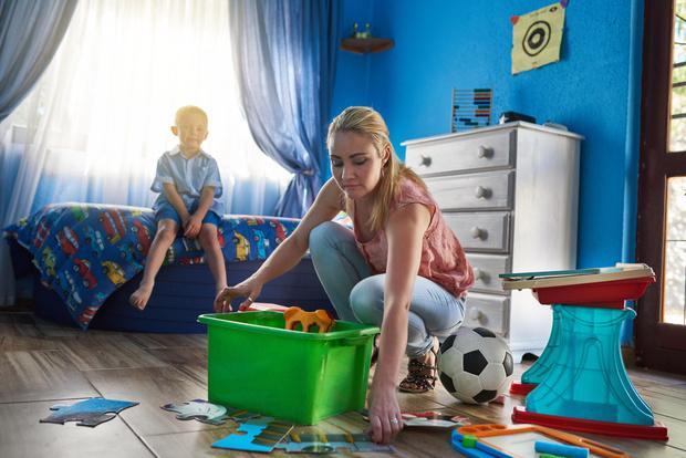 как заставить ребенка убирать за собой метод монтессори