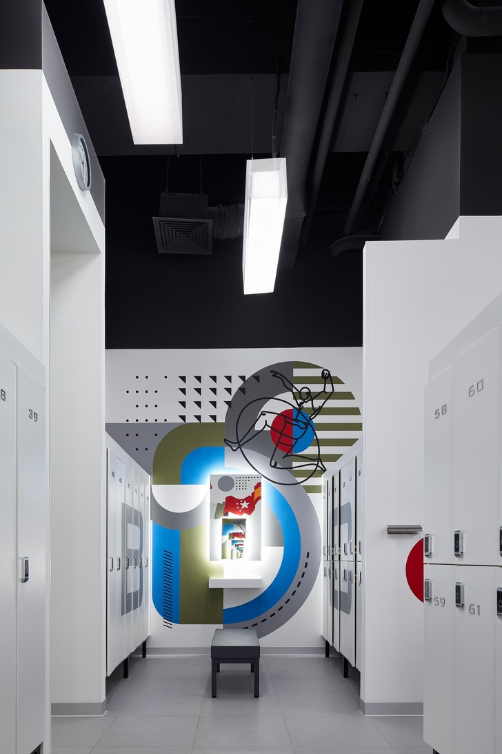 Фото №9 - Спортклуб World Class Алексеевская: проект VOX Architects