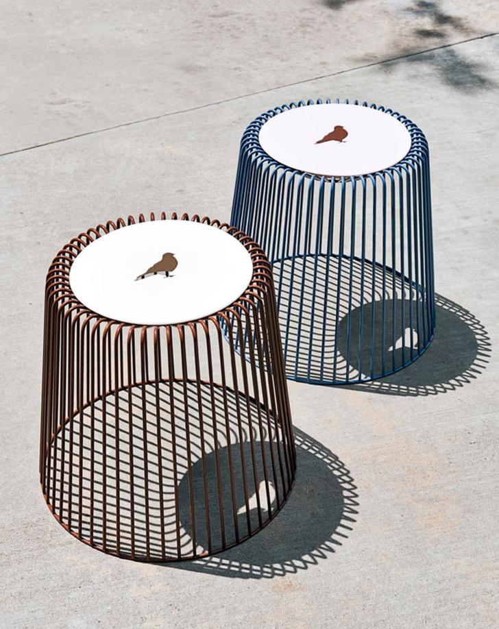 Фото №11 - Птичьи клетки в интерьере: идеи использования от дизайнера