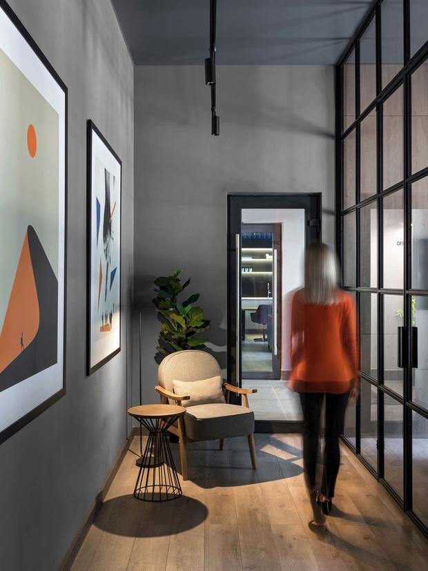 Фото №1 - Современный офис в стиле лофт в Минске