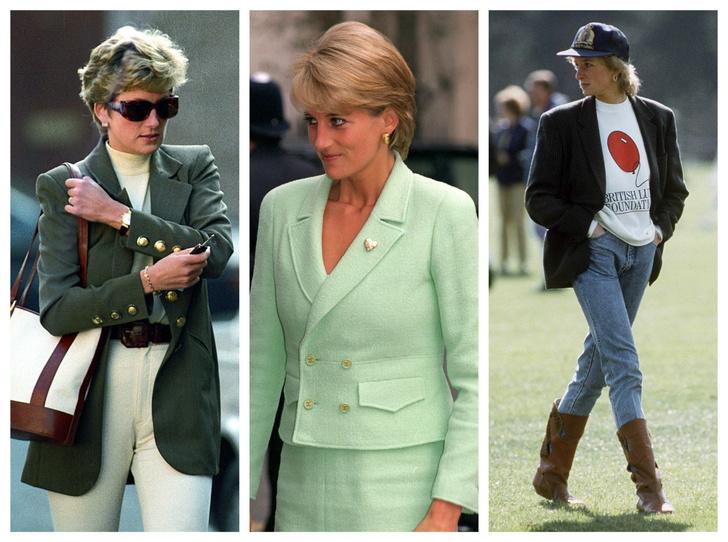 Фото №1 - Как принцесса Диана одевалась бы в наши дни (и осталась бы она иконой стиля?)