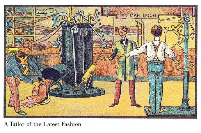 Фото №11 - Как люди изображали наше время сто лет назад