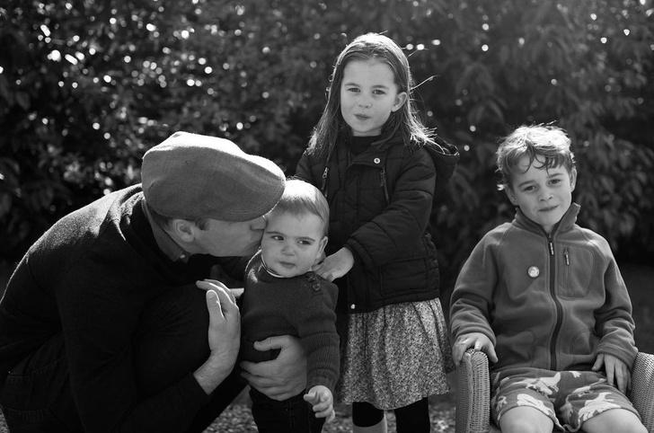 Фото №4 - Все рождественские открытки семьи Миддлтон и Уильяма: 10 фото