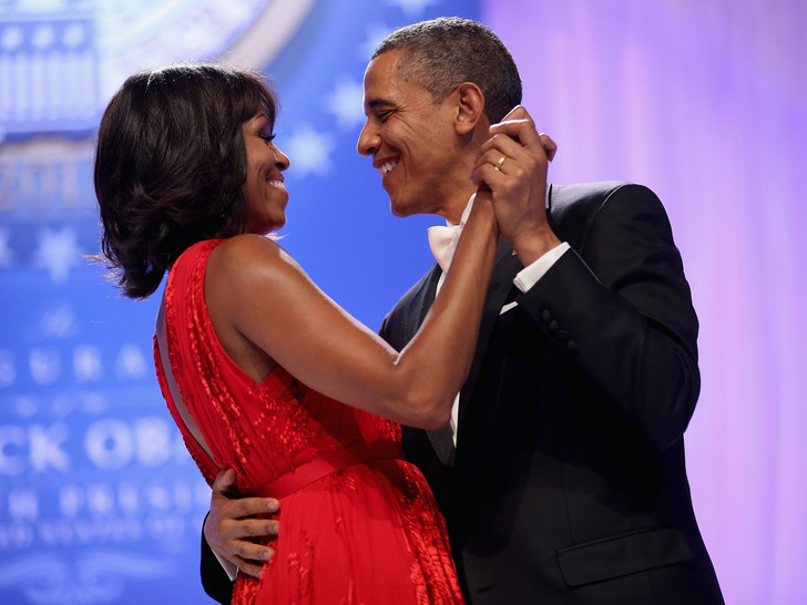 Фото №2 - Как признаются в любви президенты: Барак Обама и его трогательное обращение к жене