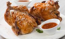 Цыплята в глазури