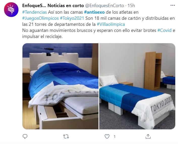 Фото №2 - Участники Олимпийских игр будут спать на кроватях, на которых нельзя заниматься сексом 😂