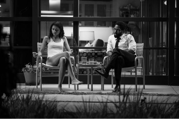 Фото №6 - Однажды в Голливуде: черно-белый стиль в драме «Малкольм и Мари»