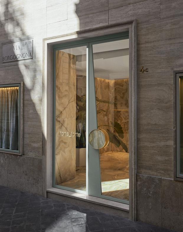 Фото №6 - Оникс и латунь: бутик Forte Forte в Риме