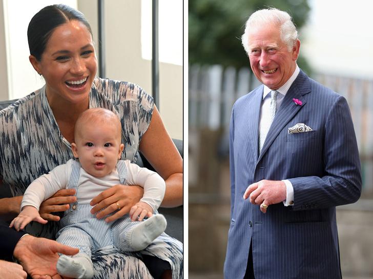 Фото №1 - Любимый дедушка: как Арчи Сассекский называет принца Чарльза