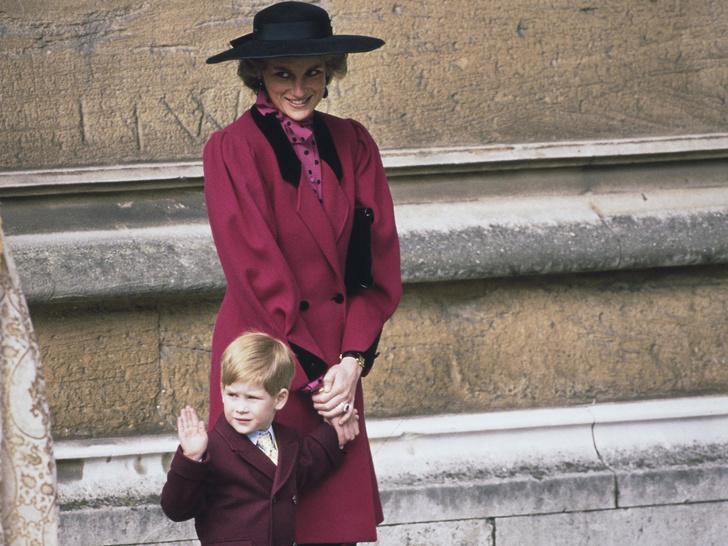 Фото №1 - Почему принцесса Диана считала, что Гарри больше подошел бы на роль короля, чем Уильям