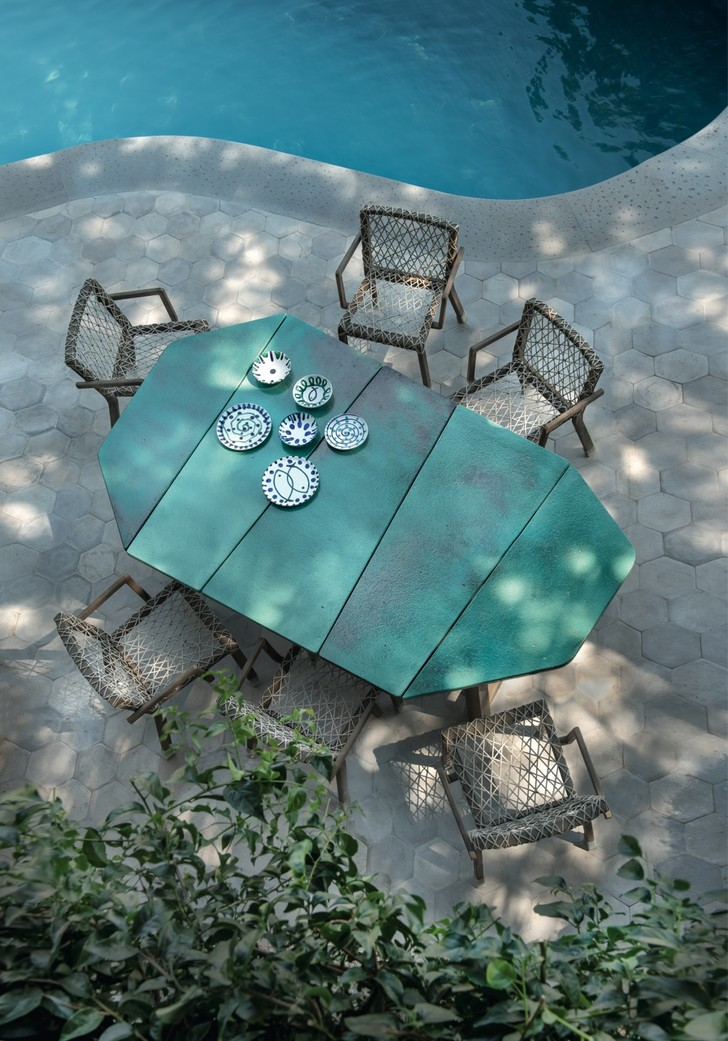 Фото №8 - Завтрак на траве: летняя кухня и столовая